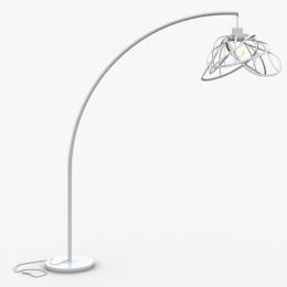 Bloom / White Floor Lamp